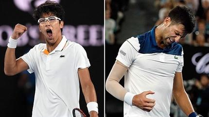 """Tài năng trẻ châu Á """"thổi bay"""" Djokovic khỏi Australian Open"""