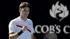 """Federer """"tốc hành"""" vào tứ kết Australian Open 2018"""