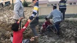 Bé trai Bắc Ninh bị người lớn đánh đập dã man vì trộm ngô