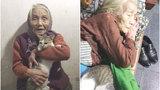 Sợ mèo rét, bà đắp chăn ủ ấm cho mèo ngủ