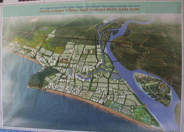 Sầm Sơn,Thanh Hóa,quy hoạch TP Sầm Sơn,Chủ tịch UBND tỉnh Thanh Hóa,quy hoạch đô thị