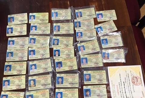 giấy phép lái xe,bằng giả