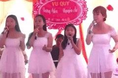 Bốn chị em song ca cực tình cảm mừng chị cả đi lấy chồng