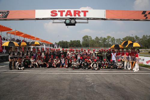 Honda VN 'đỡ đầu' nền đua xe thể thao Việt Nam
