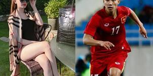 Người yêu xinh như hot girl của các cầu thủ U23 Việt Nam