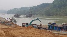 Dừng mọi hoạt động khai khoáng trái phép tại thủy điện Sông Lô 8A