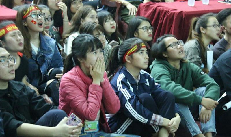 CĐV cổ vũ U23 Việt Nam,U23 Việt Nam,U23 Qatar