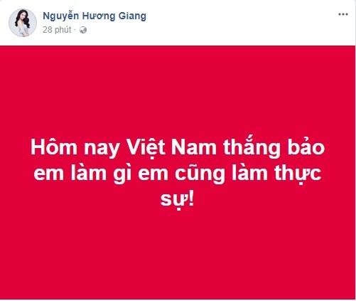 Lời hứa của Sao Việt nếu U23 Việt Nam chiến thắng