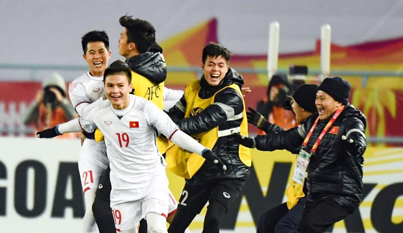 U23 Việt Nam,Quang Hải,U23 Qatar