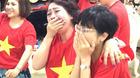 Thảo Vân, Trà My, Hoàng Bách khóc khi U23 Việt Nam chiến thắng