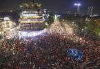 Mừng chiến thắng U23 Việt Nam: Chôn chân ở Hồ Gươm, đêm nay không ngủ