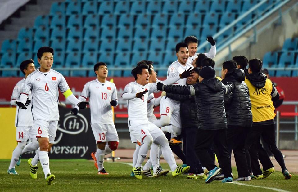 Cuộc sống đã mượn cảm xúc của U23 Việt Nam