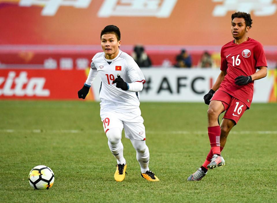 U23 Việt Nam,HLV Park Hang Seo,Quang Hải,U23 Qatar