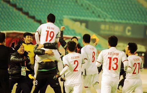 Quang Hải,U23 Việt Nam,HLV Park Hang Seo,thủ môn Tiến Dũng