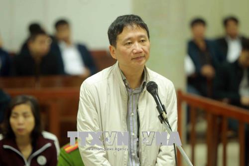 Trịnh Xuân Thanh,xét xử Trịnh Xuân Thanh,Đinh Mạnh Thắng,tham ô,PVC