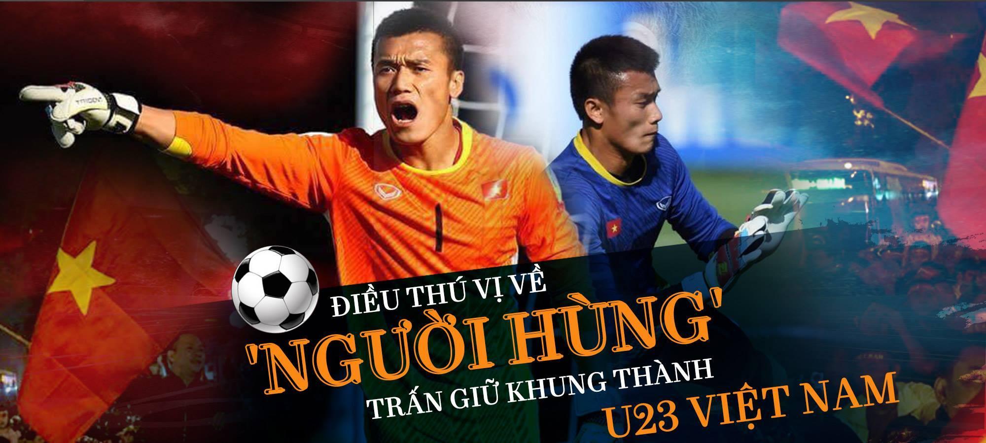 Bùi Tiến Dũng,U23 Việt Nam,Thủ môn Bùi Tiến Dũng