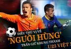 Điều thú vị về Tiến Dũng - 'người hùng' trấn giữ khung thành U23 Việt Nam