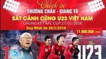 Thuê máy bay chở cả đoàn sang Trung Quốc cổ động bóng đá
