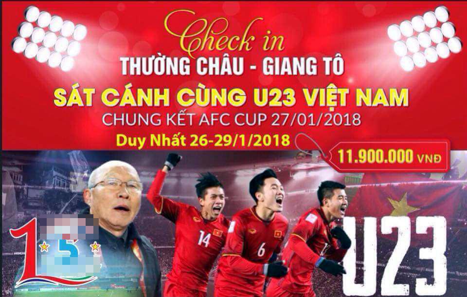 AFC Cup,xem bóng đá,cổ động viên,du khách,U23 Việt Nam