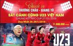 Thuê máy bay chở cả đoàn sang Trung Quốc cổ vũ U23 Việt Nam
