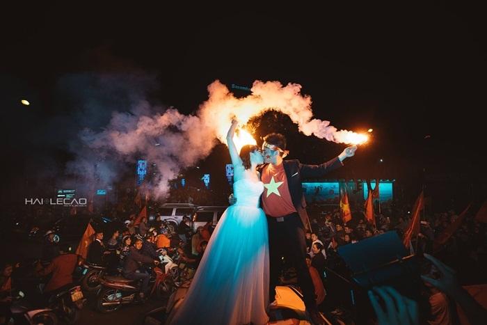 Ảnh cưới,Đám cưới,U23 Việt Nam,U23 Qatar,Tình yêu
