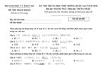 Đề thi minh họa môn Ngoại ngữ- tiếng Nhật kỳ thi THPT quốc gia 2018