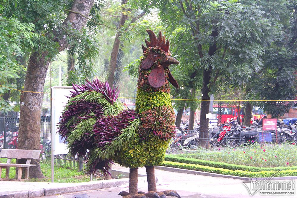12 con giáp,công viên Thống Nhất,Tết Mậu Tuất,Hà Nội