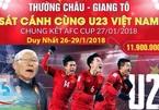 """""""Tour Trung Quốc"""" thành từ khóa hot khi U23 vào Chung kết"""