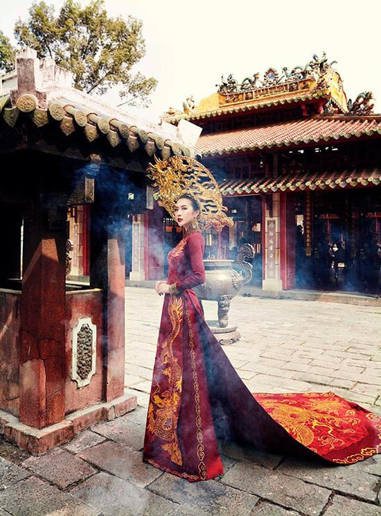 Tường Linh The Face dừng chân ở top 18 Hoa hậu Liên lục địa