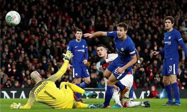 Đánh gục Chelsea, Arsenal vào chung kết cup Liên đoàn Anh