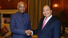Thủ tướng hội kiến Tổng thống Ấn Độ