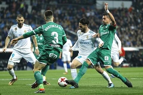 Real Madrid 1-2 Leganes