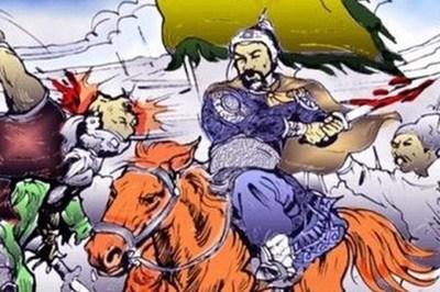 Vua nào từng cởi áo ngự đắp cho thủ cấp của tướng địch?