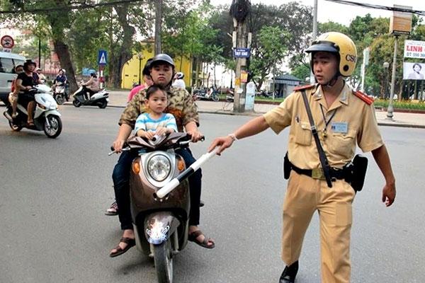 tư vấn pháp luật, luật giao thông, lỗi xe máy, vi phạm giao thông