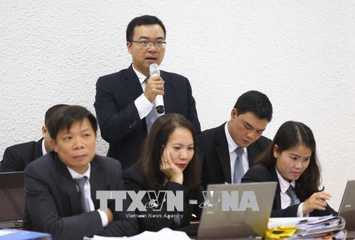 Hình ảnh xét xử vụ Trịnh Xuân Thanh, Đinh Mạnh Thắng 25/1