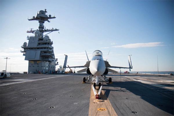 Choáng ngợp hàng không mẫu hạm 'khủng' nhất thế giới