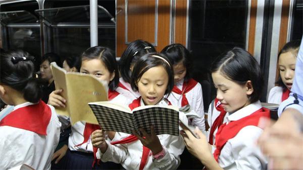 Ngỡ ngàng cảnh đời sống vui vẻ ở Triều Tiên