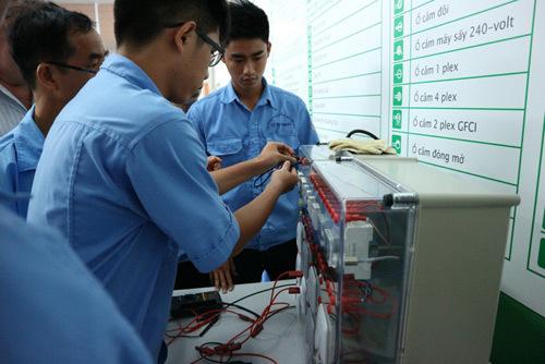 Lời giải cho bài toán nhân lực ngành điện