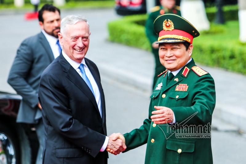 Hoa Kỳ, Mỹ, Việt-Mỹ, Bộ trưởng Quốc phòng, Ngô Xuân Lịch