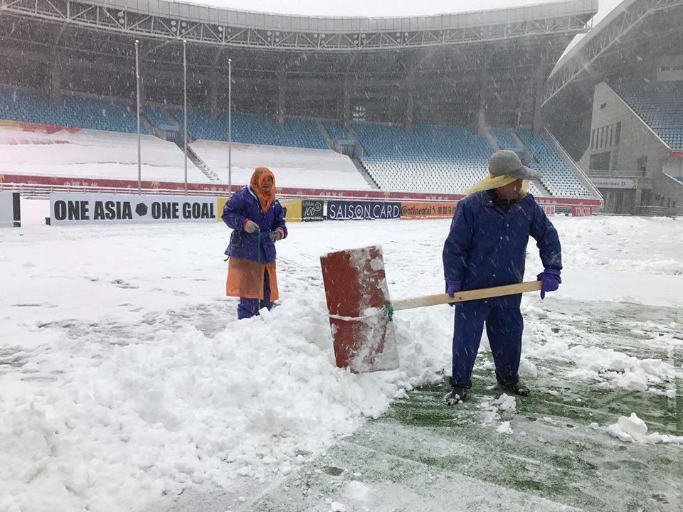 Bác tin hoãn trận chung kết U23 Việt Nam – U23 Uzbekistan