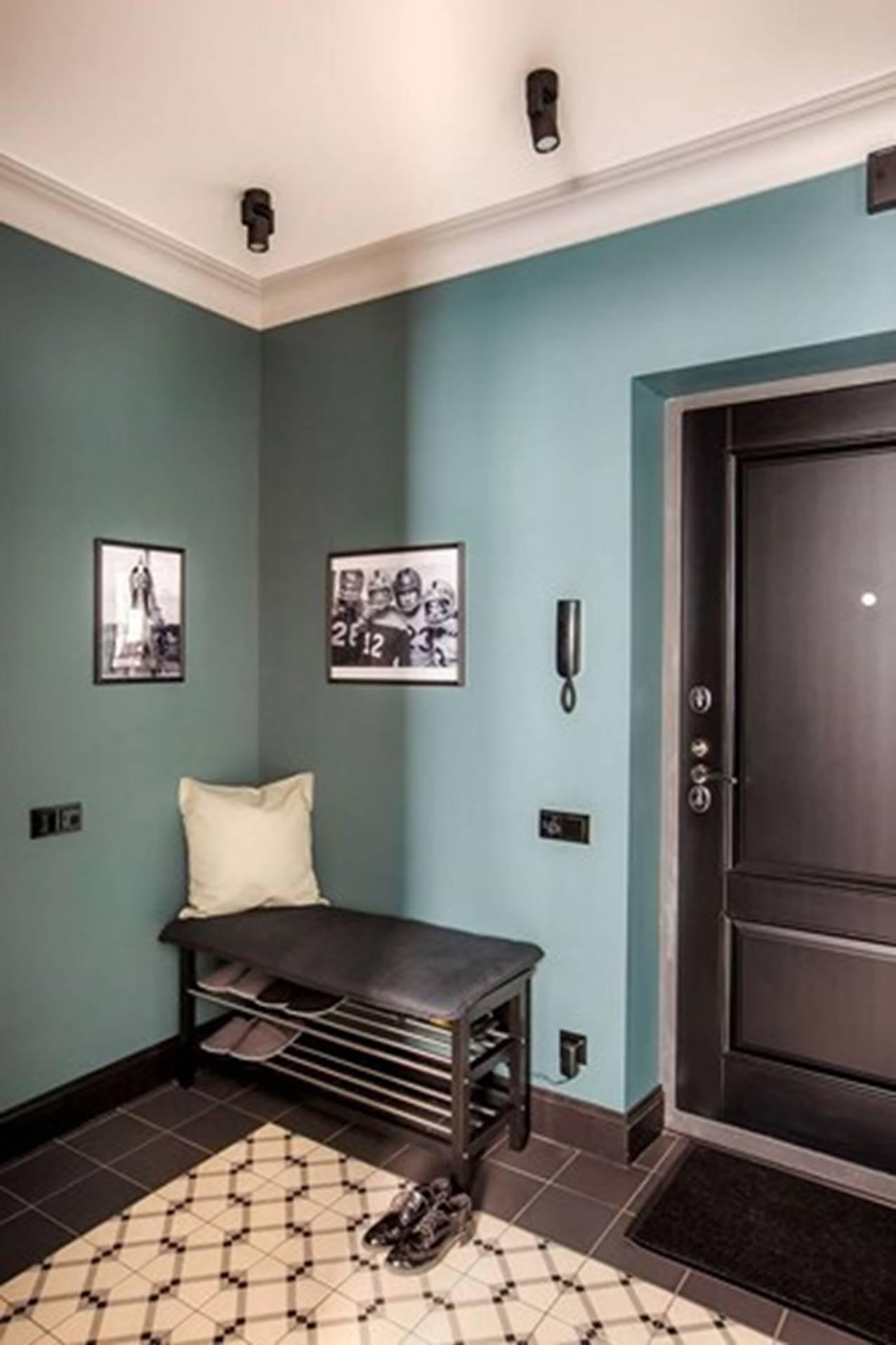"""Bên trong căn hộ cổ điển 48m2 có nội thất đầy vẻ """"nam tính'"""