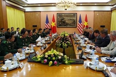 Trình lãnh đạo cấp cao phê duyệt để tàu sân bay Mỹ đến Đà Nẵng