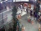 20 thanh niên bịt mặt, cầm hung khí truy sát chủ quán nhậu