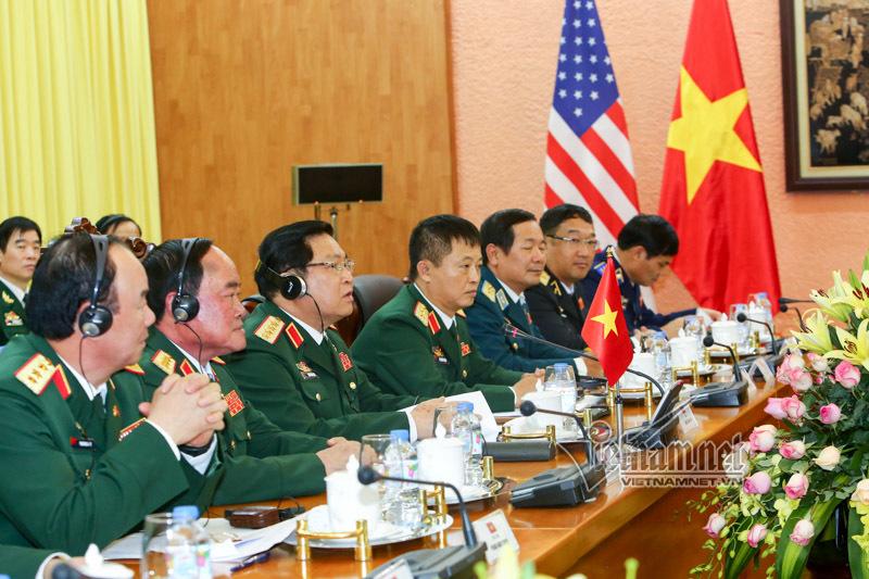 Mỹ, Việt-Mỹ, Bộ trưởng Quốc phòng, Ngô Xuân Lịch, tàu sân bay