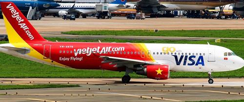 Vietjet đã sơn những gì lên thân máy bay?