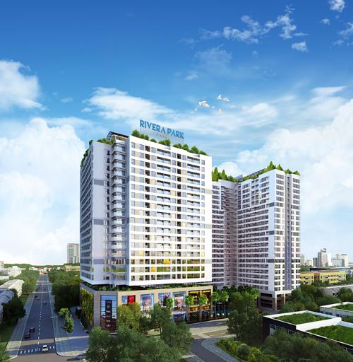 Rivera Park Hà Nội: Điểm nhấn tuyến phố thương mại hiện đại