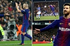 Messi tỏa sáng, Barca nghẹt thở vào bán kết Cúp Nhà vua