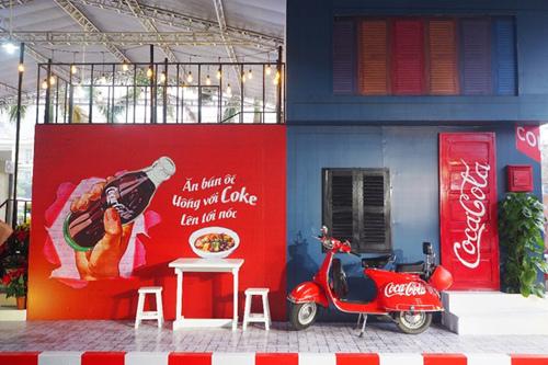 Trải nghiệm ẩm thực đường phố cùng Coca-Cola
