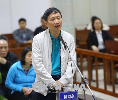 Trịnh Xuân Thanh, Xét xử Trịnh Xuân Thanh, Đinh Mạnh Thắng, PVC, PVP Land, tham ô