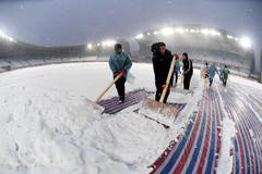 U23 Việt Nam có giầy mới, không ngán mưa tuyết